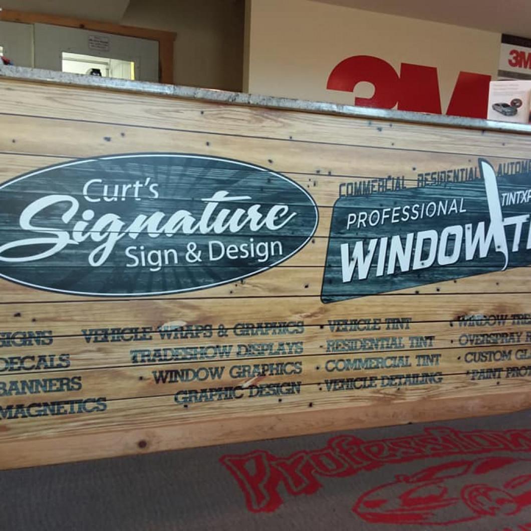 Craft custom trade show displays